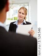 Купить «Прием на работу», фото № 3124546, снято 28 февраля 2011 г. (c) Monkey Business Images / Фотобанк Лори