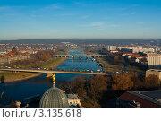 Дрезден с высоты птичьего полета. Германия, фото № 3135618, снято 25 ноября 2011 г. (c) Алексей Ширманов / Фотобанк Лори