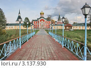 Иверский монастырь. Стоковое фото, фотограф Ксения Минькова / Фотобанк Лори