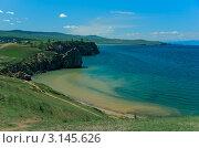 Купить «Берега озера Байкал, остров Ольхон, Россия», фото № 3145626, снято 11 августа 2011 г. (c) Opra / Фотобанк Лори