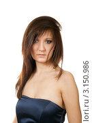 Купить «Красивая девушка», фото № 3150986, снято 6 января 2012 г. (c) ElenArt / Фотобанк Лори