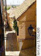 Купить «Вид на улочки Толедо в солнечный летний день, Мадрид, Испания», фото № 3152430, снято 29 марта 2020 г. (c) Сергей Петерман / Фотобанк Лори