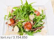 Купить «Вкусный салат из говяжьего языка», фото № 3154850, снято 6 июля 2011 г. (c) Jan Jack Russo Media / Фотобанк Лори