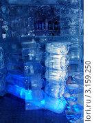 Купить «Ледяная комната в тереме Снегурочки, ледяной бар», фото № 3159250, снято 17 января 2012 г. (c) ElenArt / Фотобанк Лори