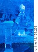 Купить «Ледяная комната в Тереме Снегурочки в синих тонах», фото № 3159258, снято 17 января 2012 г. (c) ElenArt / Фотобанк Лори