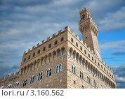 Ратуша Palazzo Vecchio. Флоренция, Италия. (2007 год). Стоковое фото, фотограф Jelena Dautova / Фотобанк Лори