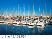 Португалия, Лиссабон, Белен, марина, яхты (Doca de Belem) (2011 год). Редакционное фото, фотограф Виктория Катьянова / Фотобанк Лори