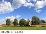 Купить «Спасо-Бородинский женский монастырь. Бородино», эксклюзивное фото № 3163358, снято 4 июня 2011 г. (c) ДеН / Фотобанк Лори