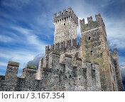 Замок Scaligero на озере Гарда. Италия (2007 год). Стоковое фото, фотограф Jelena Dautova / Фотобанк Лори