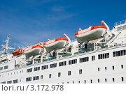 Купить «Спасательные шлюпки.Паром Viking Line», эксклюзивное фото № 3172978, снято 5 августа 2011 г. (c) Александр Щепин / Фотобанк Лори