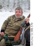 Купить «Охотник», фото № 3188170, снято 23 октября 2010 г. (c) Владимир Мельников / Фотобанк Лори