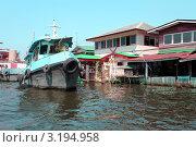 Канал в Бангкоке (2011 год). Стоковое фото, фотограф Диана Карлова / Фотобанк Лори