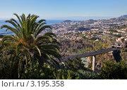 Купить «Португалия. Остров Мадейра. Дороги города Фуншал (Funchal)», фото № 3195358, снято 26 марта 2019 г. (c) Виктория Катьянова / Фотобанк Лори