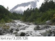 Река Цейдон, Цейское ущелье. Стоковое фото, фотограф Судаков Валентин / Фотобанк Лори