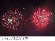 Купить «Салют. Горизонтальный фон», фото № 3208270, снято 24 января 2012 г. (c) Ольга Липунова / Фотобанк Лори