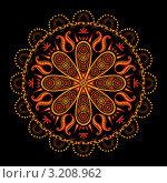 Купить «Индийский орнамент», иллюстрация № 3208962 (c) Инна Грязнова / Фотобанк Лори