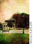 Купить «Стамбул. Стилизация под старую открытку», иллюстрация № 3215270 (c) Екатерина Шелыганова / Фотобанк Лори