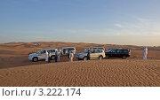 Купить «Джип-сафари в пустыне Руб-эль-Хали. ОАЭ.», фото № 3222174, снято 4 января 2012 г. (c) GrayFox / Фотобанк Лори