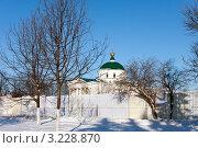 Купить «Ярославль, церковь Похвалы Богоматери», фото № 3228870, снято 28 января 2012 г. (c) ElenArt / Фотобанк Лори