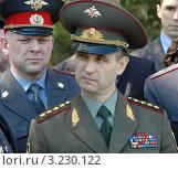Министр внутренних дел РФ Рашид Нургалиев (2006 год). Редакционное фото, фотограф Юрий Пирогов / Фотобанк Лори