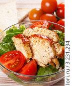 Куриный салат. Стоковое фото, фотограф Татьяна Пчелкина / Фотобанк Лори