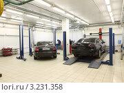 Купить «Автосервис», эксклюзивное фото № 3231358, снято 24 января 2012 г. (c) Дмитрий Неумоин / Фотобанк Лори