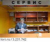 Купить «Интерьер автомастерской», эксклюзивное фото № 3231742, снято 24 января 2012 г. (c) Дмитрий Неумоин / Фотобанк Лори