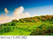 Купить «Горы на закате. Нагорный Карабах», фото № 3241082, снято 9 июня 2011 г. (c) Екатерина Овсянникова / Фотобанк Лори