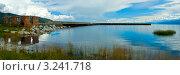 Купить «Причал на озере Байкал», фото № 3241718, снято 14 августа 2011 г. (c) Opra / Фотобанк Лори