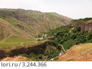 Ущелье реки Азат, Гарни, Армения (2009 год). Стоковое фото, фотограф Андрей Щавелев / Фотобанк Лори