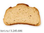 Кусочек белого хлеба. Стоковое фото, фотограф Сергей Илясов / Фотобанк Лори