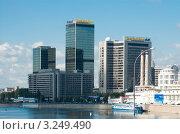 Купить «Москва. Гостиница «Кроун Плаза» (Crowne Plaza)», фото № 3249490, снято 18 августа 2011 г. (c) Зобков Георгий / Фотобанк Лори