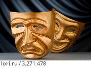 Купить «Две театральные маски», фото № 3271478, снято 4 мая 2011 г. (c) Elnur / Фотобанк Лори