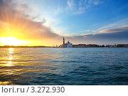 Купить «Восход в Венеции, Италия», фото № 3272930, снято 7 июня 2020 г. (c) Sergey Borisov / Фотобанк Лори