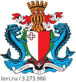 Купить «Герб Мальты», иллюстрация № 3273986 (c) Геннадий Поддубный / Фотобанк Лори