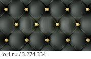 """Купить «Слово """"luxury"""" (""""роскошь"""") на фоне кожаной обивки дивана», видеоролик № 3274334 (c) Владислав Старожилов / Фотобанк Лори"""