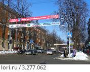 Купить «Проспект Ленина.  Московская область, Балашиха», эксклюзивное фото № 3277062, снято 20 февраля 2012 г. (c) lana1501 / Фотобанк Лори
