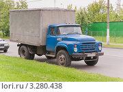 Купить «ЗИЛ-130», эксклюзивное фото № 3280438, снято 10 июня 2010 г. (c) Алёшина Оксана / Фотобанк Лори