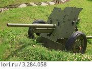 Купить «45-мм противотанковая пушка образца 1937 года (53-К)», эксклюзивное фото № 3284058, снято 19 июня 2010 г. (c) Алёшина Оксана / Фотобанк Лори