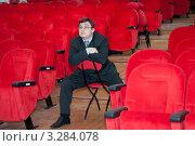 Купить «Режиссёр», фото № 3284078, снято 15 декабря 2009 г. (c) Alexander Mirt / Фотобанк Лори