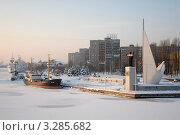 Калининград. Зимний пейзаж. Редакционное фото, фотограф Svet / Фотобанк Лори