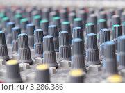 Купить «Кнопки регулировки звука крупным планом», фото № 3286386, снято 27 ноября 2011 г. (c) Elnur / Фотобанк Лори
