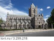 Купить «Собор Святого Патрика под голубым небом, Дублин, Ирландия», фото № 3299218, снято 12 июня 2010 г. (c) Losevsky Pavel / Фотобанк Лори