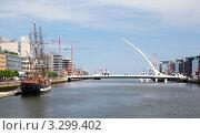 Купить «Мост Самюэля Беккета в Дублине, Ирландия», фото № 3299402, снято 12 июня 2010 г. (c) Losevsky Pavel / Фотобанк Лори