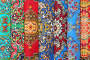 Семь разноцветных свернутых ковров, фото № 3300802, снято 21 января 2011 г. (c) Losevsky Pavel / Фотобанк Лори
