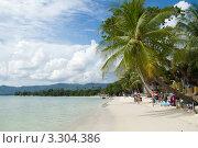 Пляж, о. Ко Самуи, Таиланд (2011 год). Стоковое фото, фотограф Инна Касацкая / Фотобанк Лори