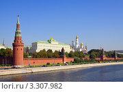 Купить «Кремль в Москве», фото № 3307982, снято 29 августа 2011 г. (c) Яков Филимонов / Фотобанк Лори