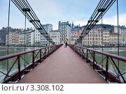 Купить «Мост. Лион. Франция», фото № 3308102, снято 27 мая 2019 г. (c) Екатерина Овсянникова / Фотобанк Лори