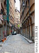 Улицы Лиона. Франция (2012 год). Редакционное фото, фотограф E. O. / Фотобанк Лори