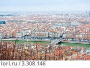 Купить «Городской пейзаж. Лион. Франция», фото № 3308146, снято 25 февраля 2012 г. (c) E. O. / Фотобанк Лори